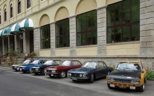 RFM-Meeting 2016 - vor dem Hotel in Valdieri