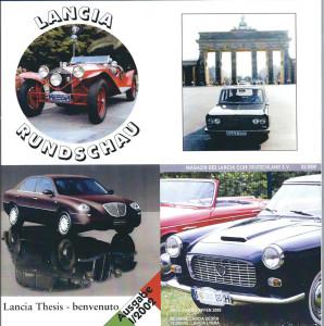Lancia Rundschau 01/2106 - Titel und Rückblick