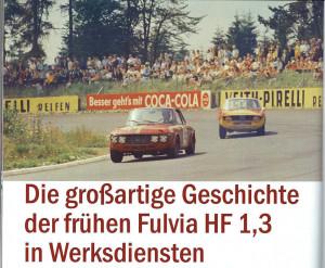 Lancia Rundschau 01/2016 - David Leech' Fulvia 1,3 HF