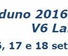 Raduno 2016 dedicato al V6 Lancia – 16, 17 e 18 settembre 2016