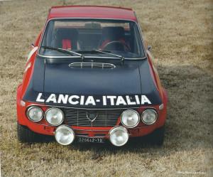Lancia - una storia vincente: Luca Gastaldi - Fulvia 1,6 HF aus dem Jahre 1970