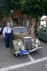 XXIII. Raduno Internazionale Registro Aprilia 2016 - auch das Präsidium kam mit Aprilia