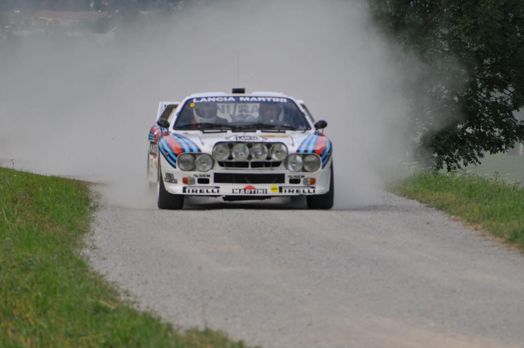 Gruppe B-Legenden 2016: Lancia 037 - zwei angetriebene Räder genügten