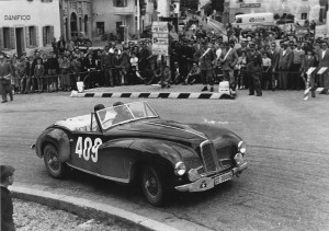 Coupe des Alpes 1961 : Jacques de Wurstemberger/Arthur Heuberger – Aston Martin DB1