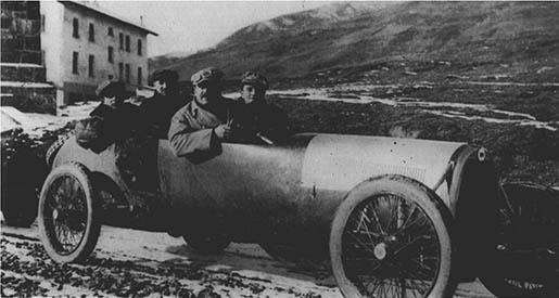 RILL GAZZETTA 22 - Probefahrt September 1921