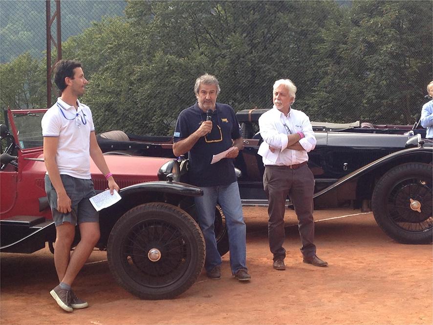 RILL GAZZETTA 22 - Villa Lancia – Vincenzo Lancia Junior commosso parla agli ospiti