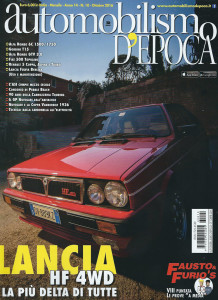 Automobilismo D'EPOCA 10/2016 - Delta als Titel
