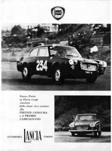 Bergrennen mit Flavia 1963