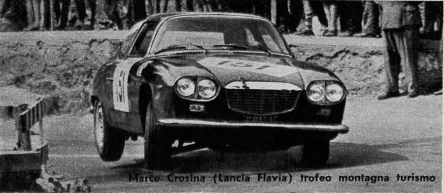 Marco Crosina - Italienischer Bergmeister 1966 mit Flavia Sport