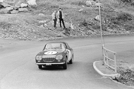 Bergrennen mit Flavia - Claudio Maglioli 1965 in der Axamer Lizum