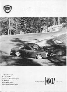 Bergrennen mit Lancia - Leo Cella 1963 Timmelsjoch