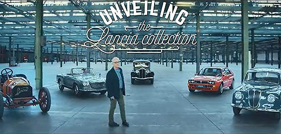 """Lancia Classiche - Video als """"Einstieg"""""""