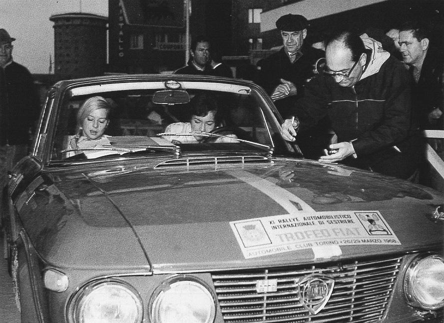 Rallye Sestriere 1968 - Gesamtsieg für Moss-Carlsson/Nyström (Nigel Trow, Lancia Racing, p 106)