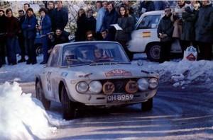 Rallye Monte-Carlo 1971 - Rosmarie Smith/Watson