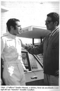Arnaldo Cavallari mit Sandro Munari