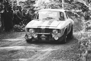 Arnaldo Cavallari - Semperit-Rallye 1967 mit dem Alfa GTA