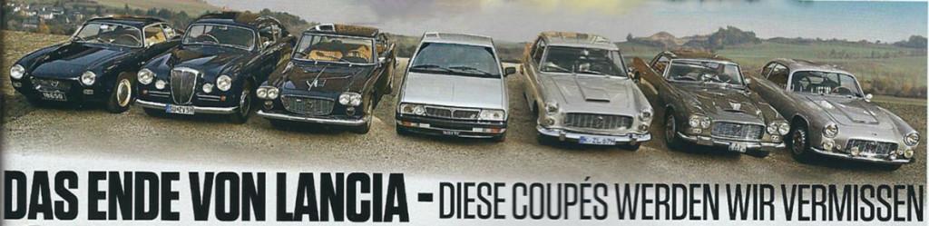 AutoZEITUNG 1/17 - Die Lancia Coupés