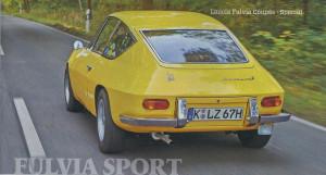 AutoZEITUNG 1/17 - Fulvia Sport von Zagato
