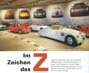 LCS - PRONTO 2/2016 - Bericht über die Zagato-Ausstellung im Pantheon