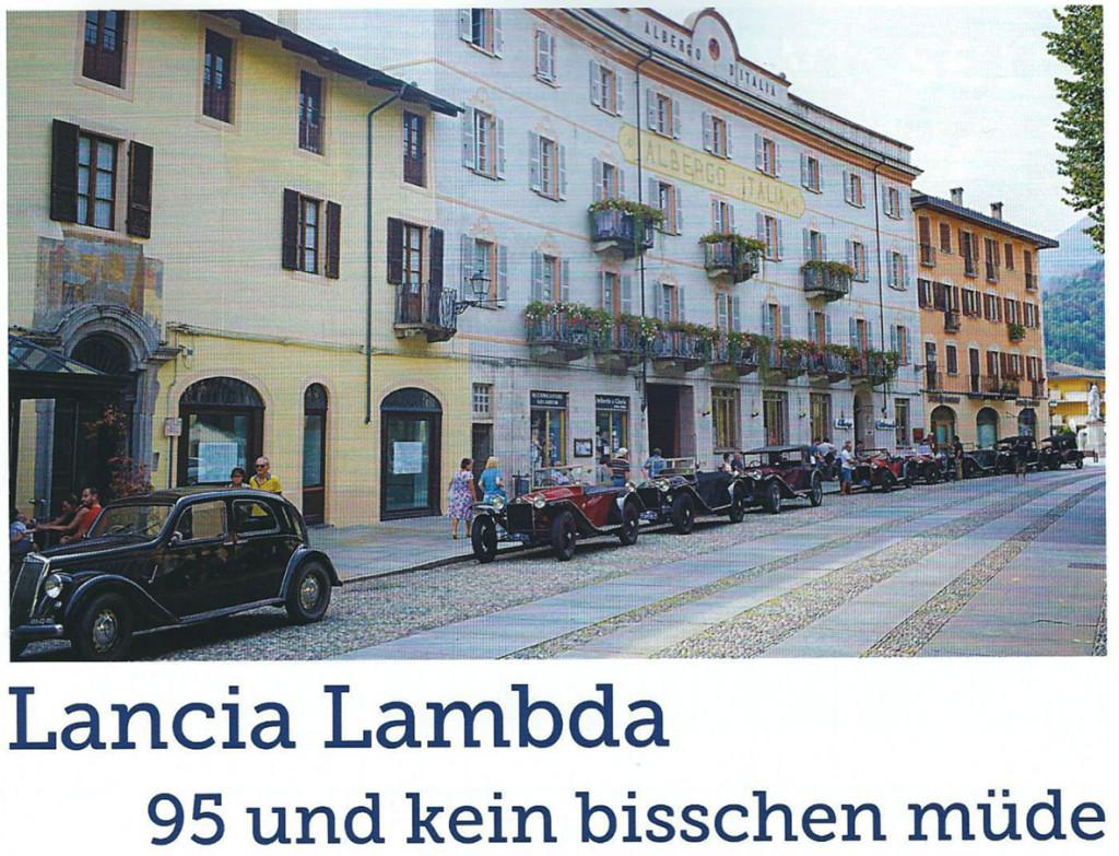 LCS - PRONTO 2/2016 - Lambda in der Schweiz