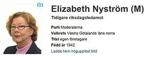 Elizabeth Nyström (1942 – 2016)