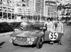 Elizabeth Nyström - Rallye Monte-Carlo 1969
