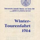 Wintertourenfahrt 1964