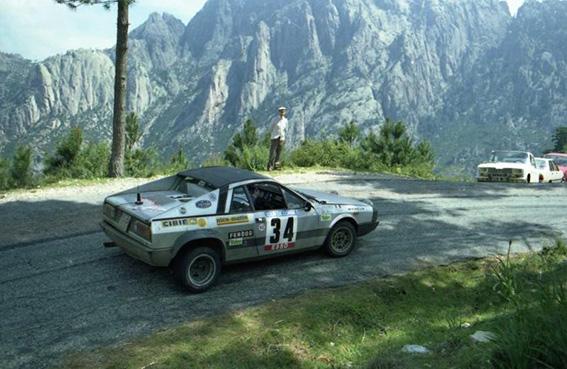Beta Montecarlo Rallye - Tour de Corse 1981 Corio/Corio