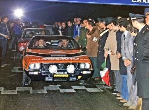 Beta Montecarlo Rallye - Rallye Monte-Carlo 1978 Giorgio Schön