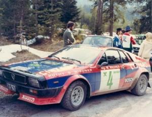 Beta Montecarlo Rallye - Österreich Wiedner/Felser 1979