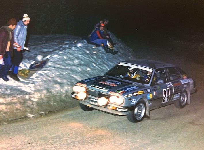 Beta Montecarlo Rallye - Rallye Monte-Carlo 1982 - Carello/Maiohas