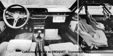 Beta Montecarlo Rallye - Innenraum
