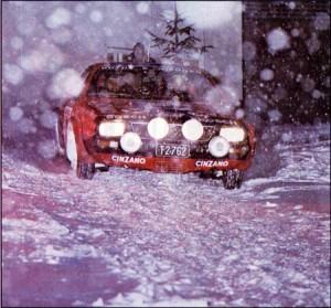Beta Montecarlo Rallye - Besuch aus Schweden in Österreich - Stig Blomqvist