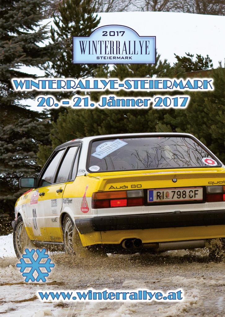 Winterrallye Steiermark 2017 - das Plakat