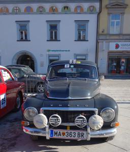 Winterrallye Steiermark 2017 - Volvo PV544 aus dem Burgenland