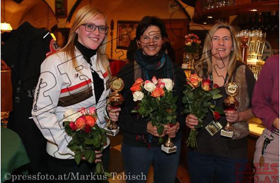 Winterrallye Steiermark 2017 - die bestplatzierten Damen