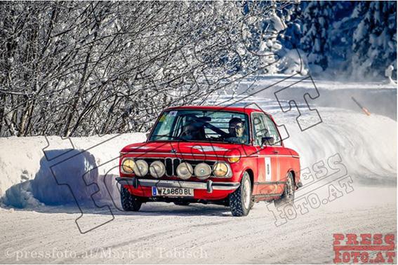 Winterrallye Steiermark 2017 - BMW 2002 tii aus der Steiermark