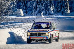 """Winterrallye Steiermark 2017 - """"Ersatzfahrzeug"""" BMW 1502"""