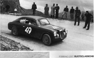 Ruoteclassiche 2/2017 - Aurelia B20 1953 in den Dolomiten