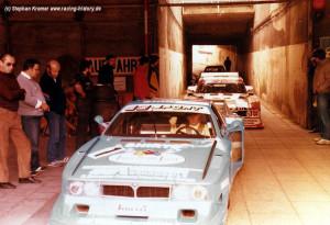 """Beta Montecarlo Turbo - Hans Heyer in seinem geliebten """"Siegerauto"""" DRM 1980, heute in seinem Privatbesitz"""