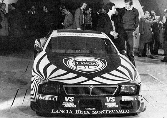 Beta Montecarlo Turbo - Erfolgreicher Einstand mit Röhrl und Patrese 1979, Bildbeschreibung im Original, weil`s so schön klingt: