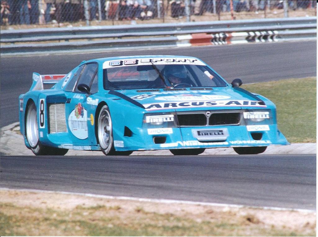 Beta Montecarlo Turbo - Nürburgring 1982 (Foto Müllender)