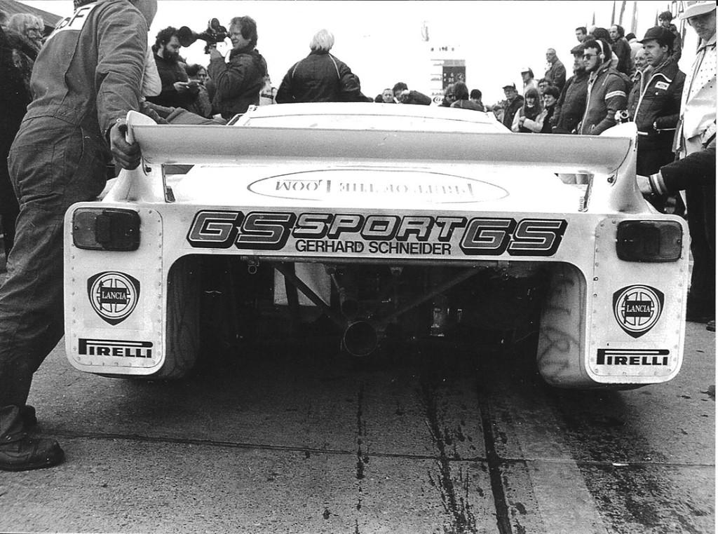 Beta Montecarlo Turbo - Nürburgring 1980 (Foto Müllender)