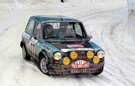 Rallye Monte-Carlo 1977: Michelle Mouton/Francoise Conconi