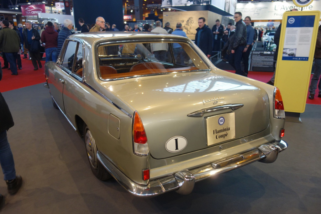 Retromobile 2017 - Flaminia Coupé (FCA Heritage)