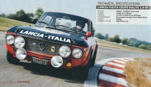 AUTOItalia Issue 255 - Lancia Fulvia 1,6 HF