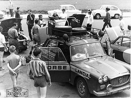 Reparto Corse Lancia - Polen Rallye 1969