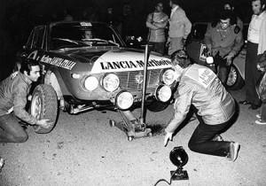 Reparto Corse Lancia - Rallye 100.000 Trabucchi 1973