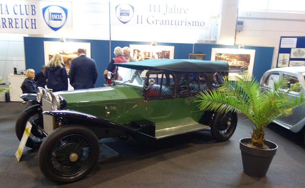 Oldtimer Messe Tulln 2017 - Lancia Lambda 3, Serie 1924