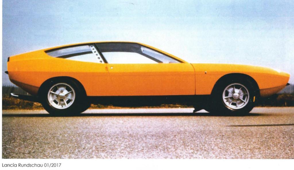 Lancia Rundschau 01/2017 - Tom Tjaarda's Fulvia 1969